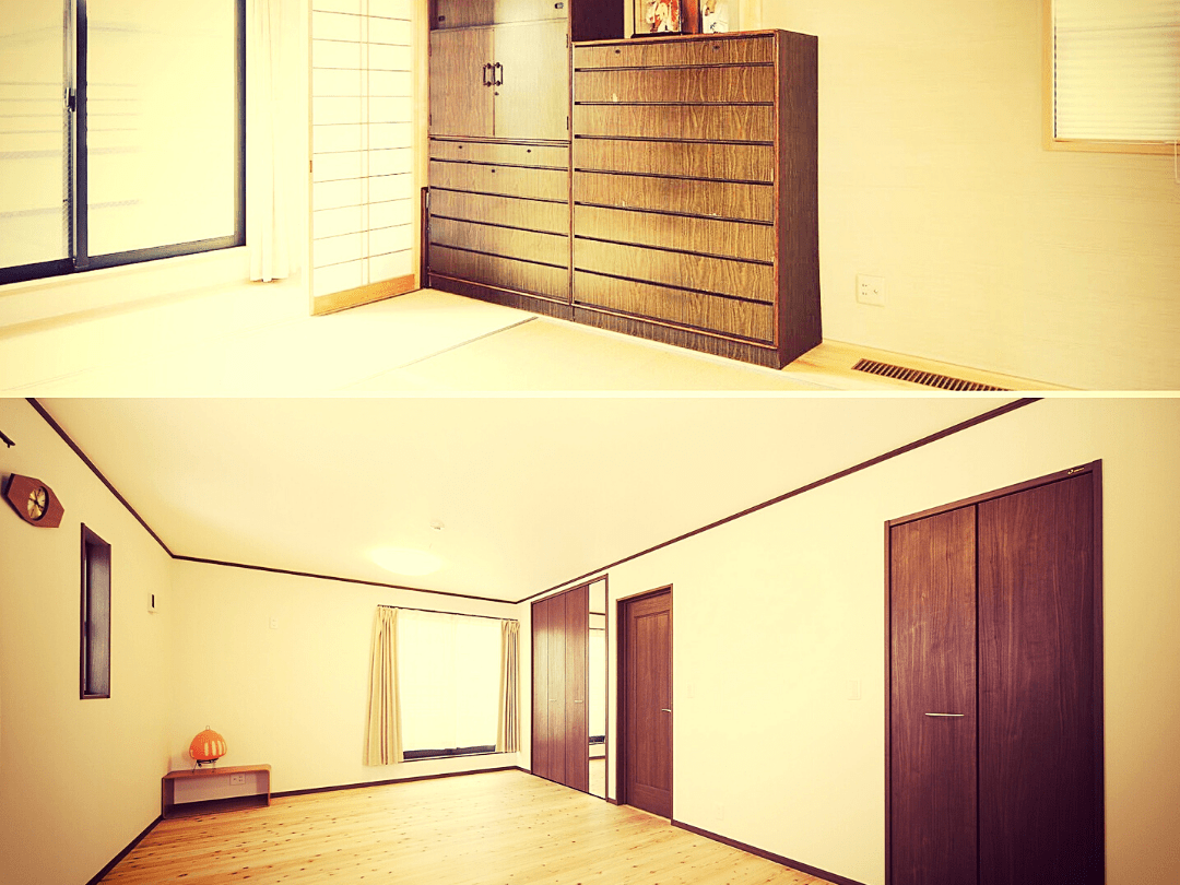 和室→洋室リフォーム